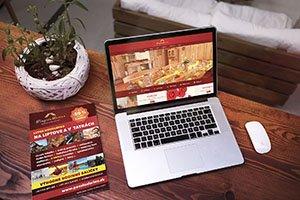 Penzión LARION logo  grafika  print  web