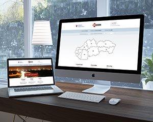 MH INVEST web  informačný systém  portál